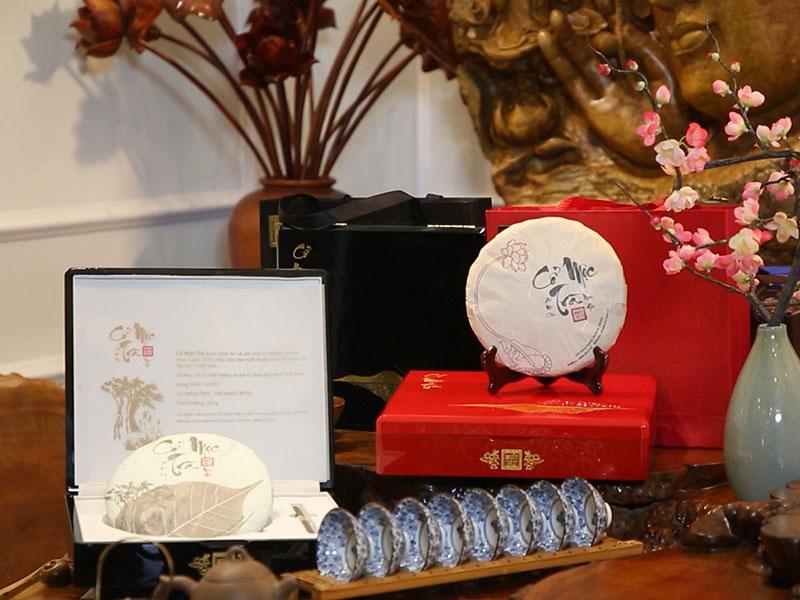 Trà Shan tuyết cổ thụ làm quà biếu Tết – Những giá trị quý báu được tôn vinh