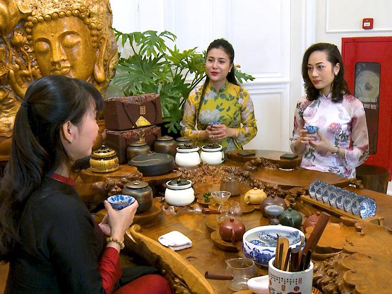 Xu hướng thưởng trà tại Điểm trà của người Việt hiện đại