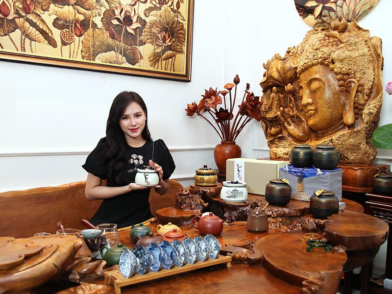 Những giá trị riêng biệt chỉ có ở Điểm trà mang đậm vẻ truyền thống