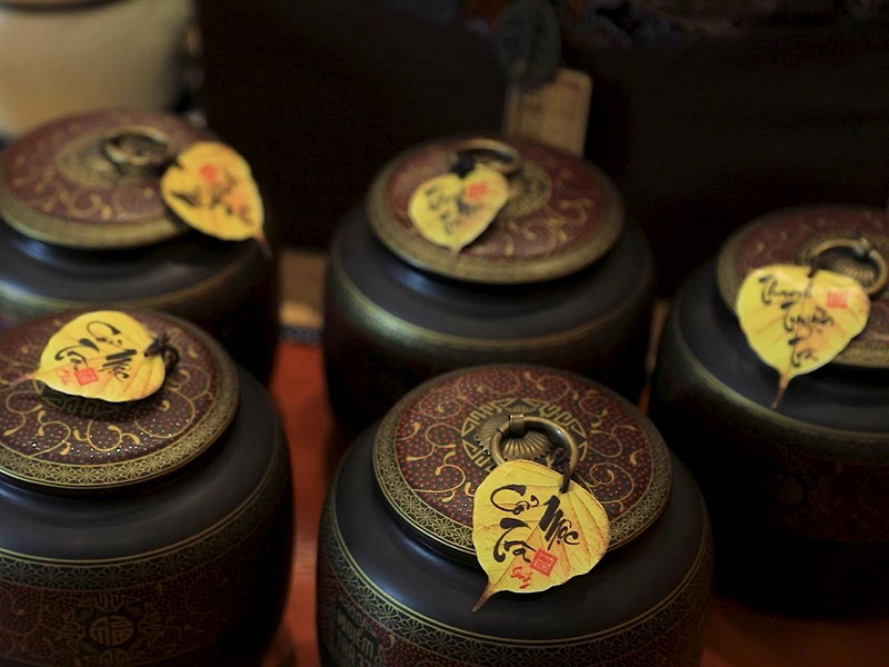 Trà Shan Tuyết - Dòng trà thượng hạng sử dụng trong tiệc giao lưu văn hóa trà Việt