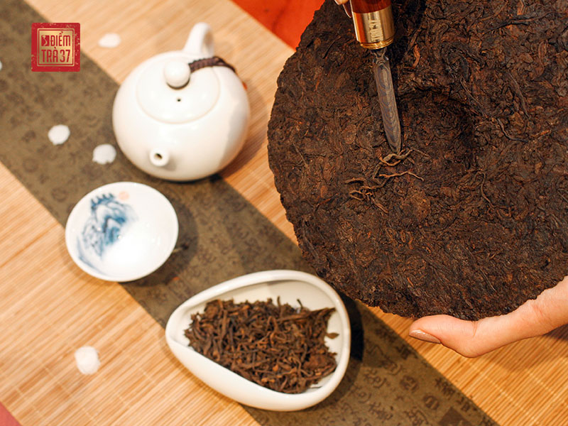 Giá trị quý báu của trà Phổ Nhĩ