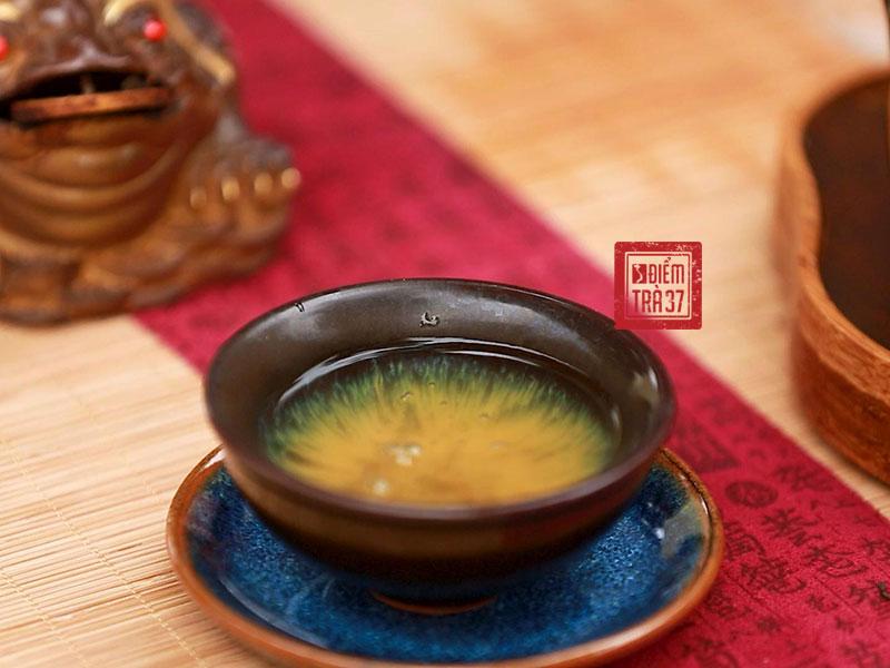 Hương vị và màu sắc của lục trà