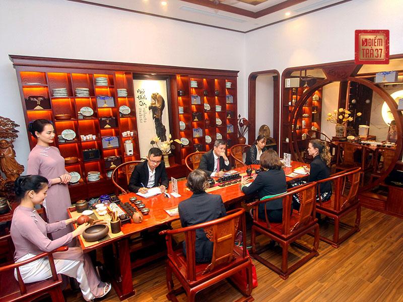 Không gian văn hóa trà Việt - Điểm trà 37 - Nơi hội tụ tinh hoa Á Đông truyền thống