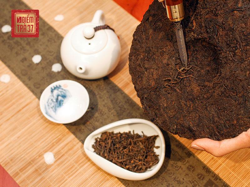 Trà Phổ Nhĩ thuộc dòng trà bánh với giá trị bậc nhất