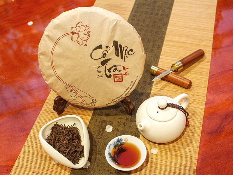Sự lên men trong chế biến trà Phổ Nhĩ