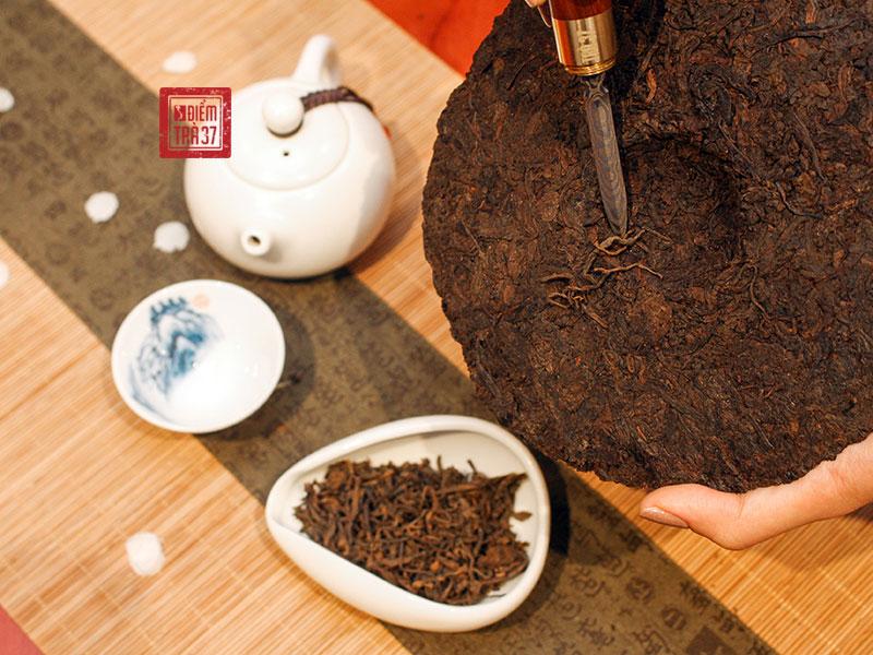 Trà Phổ Nhĩ là dòng trà bánh lên men, càng để lâu càng có giá trị