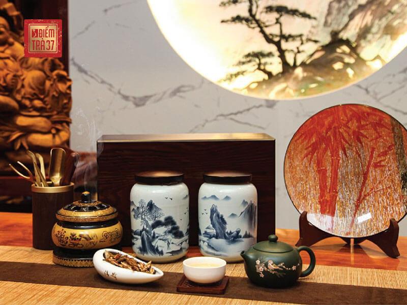 Ăn bánh trung thu uống trà gì - Bát Đại Shan